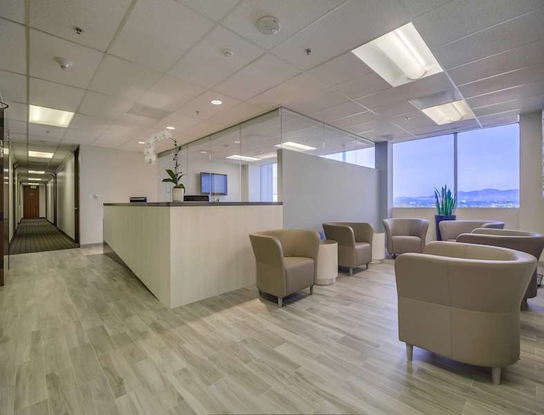 Encino Live Receptionist and Business Address Lobby