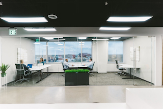 Plano Virtual Office Space - Comfortable Commons Area