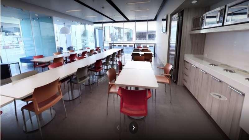 Break Area in Monterrey Virtual Office