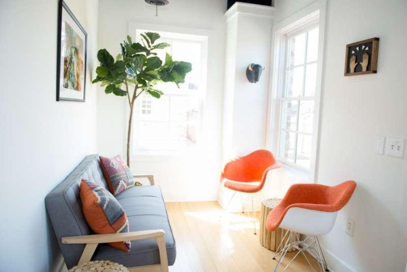 Milton Virtual Office Address - Lounge Commons Area
