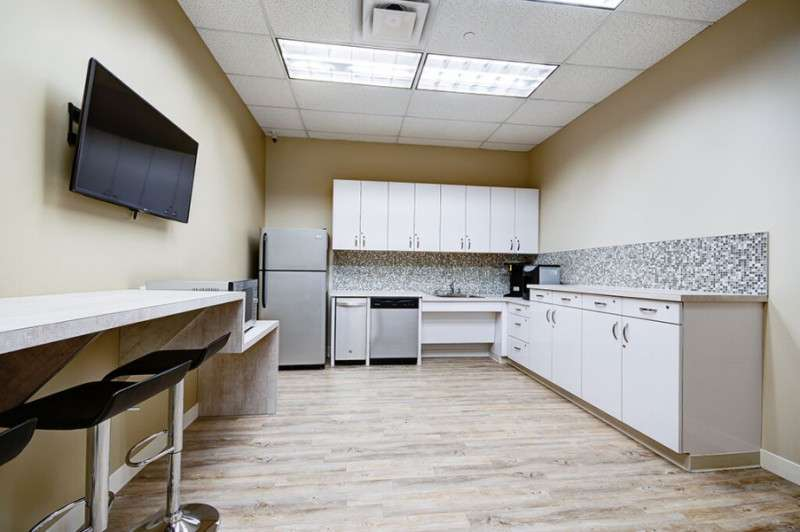 Break Room - Kitchen Area - Frisco Virtual Office