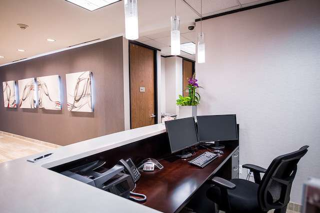 Receptionist and Mail Area - Houston Virtual Office