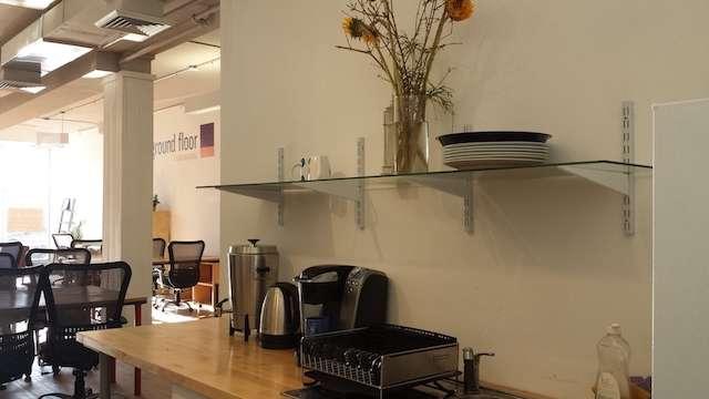 Break Area in New Rochelle Virtual Office