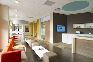 Rye Virtual Office Address - Lounge Commons Area