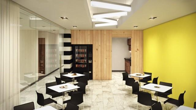Break Area in Mexico City Virtual Office Space