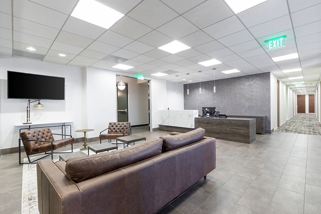 Los Angeles Virtual Office Address - Lounge Commons Area