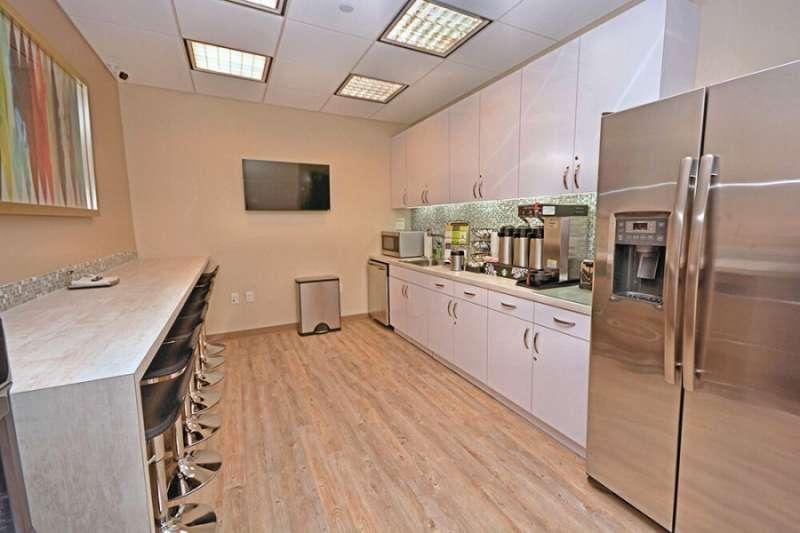 Break Area in Miami Virtual Office