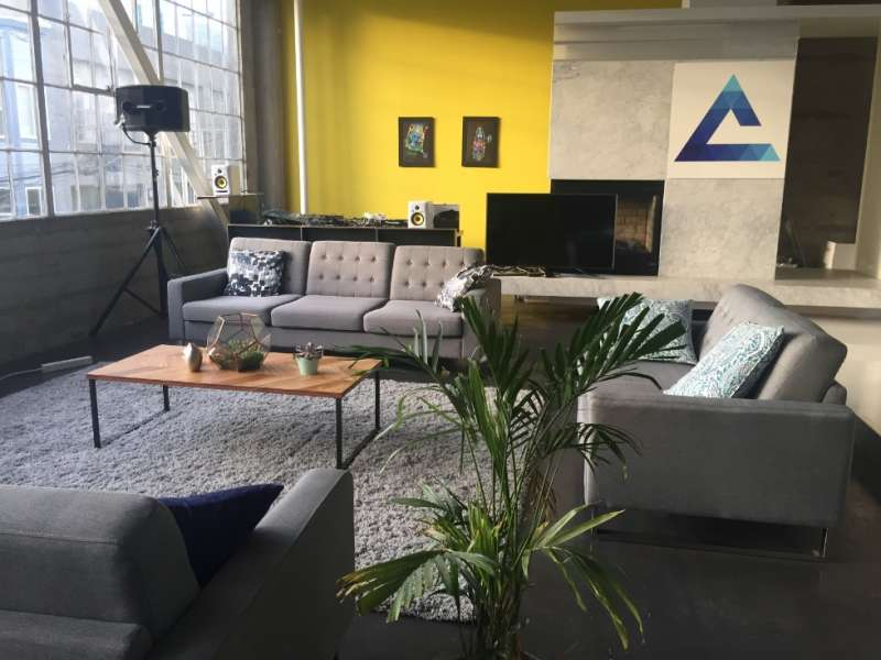 Receptionist and Mail Area - San Francisco Virtual Office
