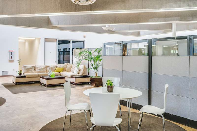 Irvine Virtual Office Address - Lounge Commons Area