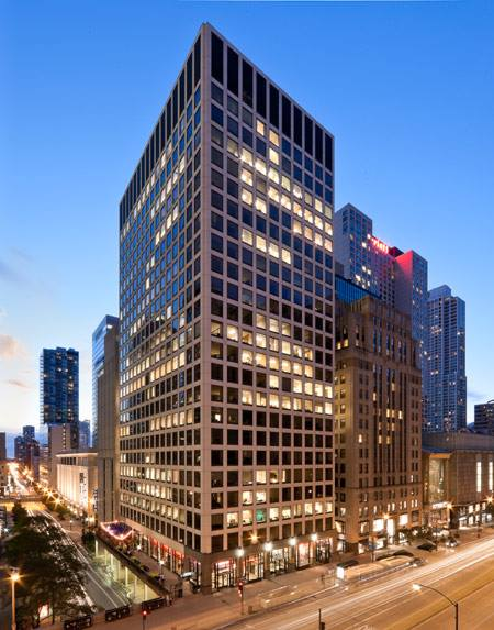 Chicago Virtual Office - Building Facade