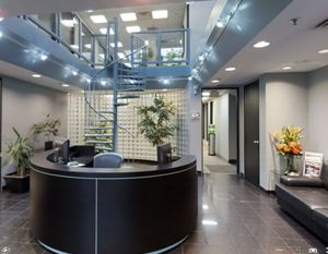 Receptionist and Mail Area - Richmond Hill Virtual Office