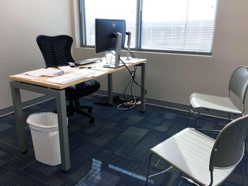 Temporary Edgewater Office - Meeting Room