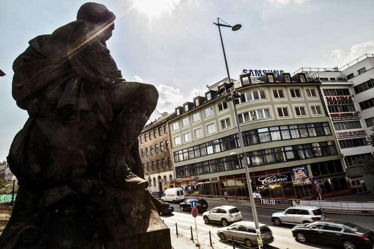 Exterior Facade - Prague 1 Virtual Office Space