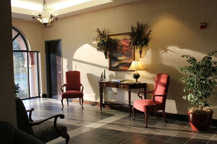 Receptionist and Mail Area - Peachtree Corners Virtual Office