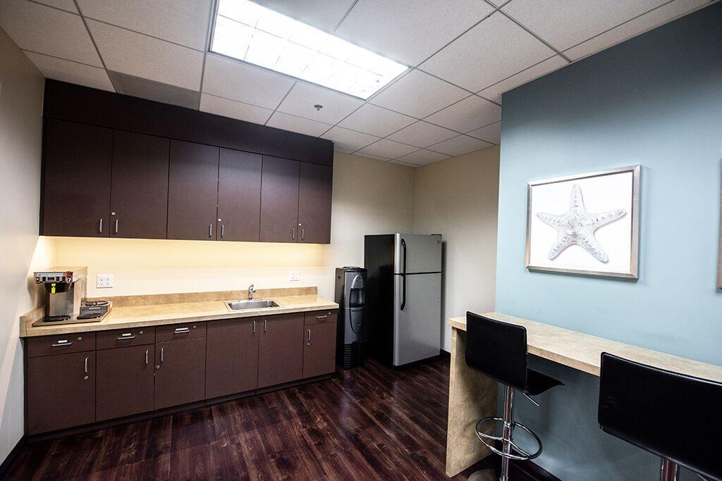 Break Area in Manhattan Beach Virtual Office Space