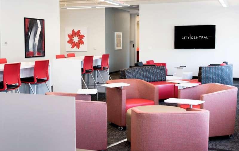 Plano Busines Address - Lounge Area