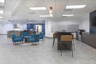 Century City Virtual Office Space - Comfortable Commons Area