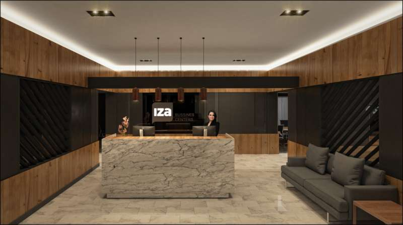 Receptionist Lobby - Virtual Offices in Mexico City