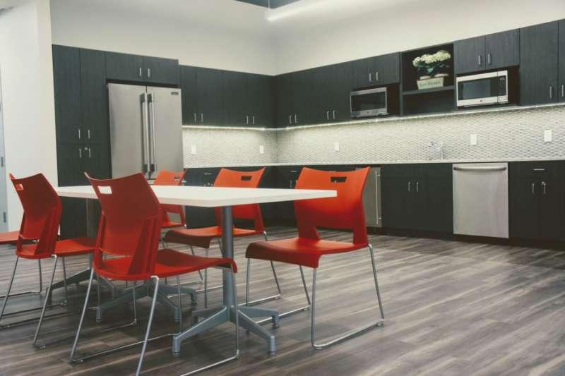 Break Area in Bethesda Virtual Office Space