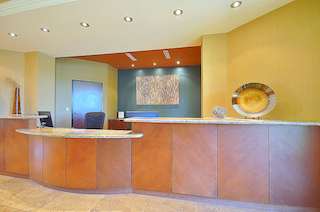 Receptionist and Mail Area - Las Vegas Virtual Office