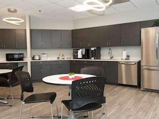 Break Area in Arlington Virtual Office