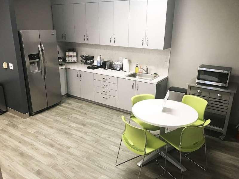 Break Area in Sherman Oaks Virtual Office Space