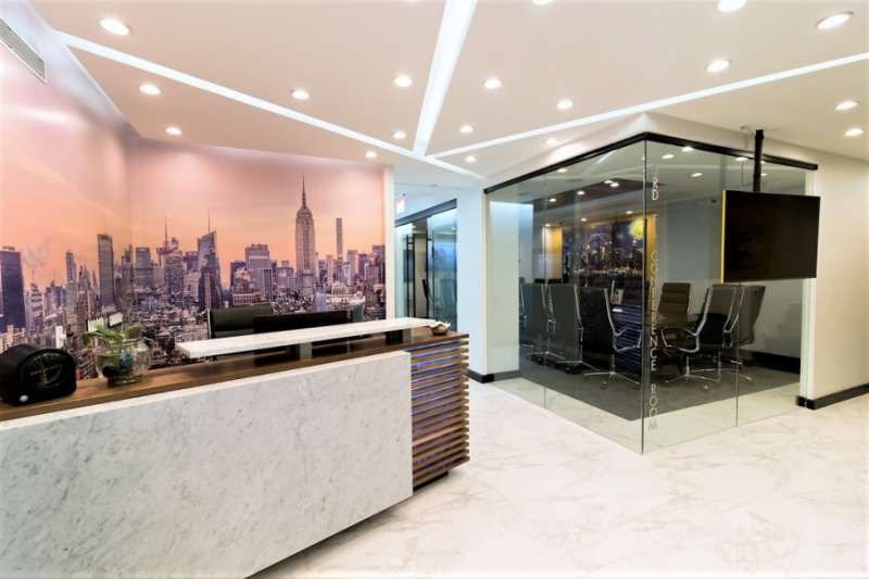 Receptionist Lobby   Virtual Offices In New York