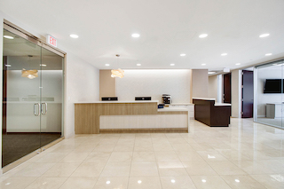 Receptionist Lobby - Virtual Offices in Miami