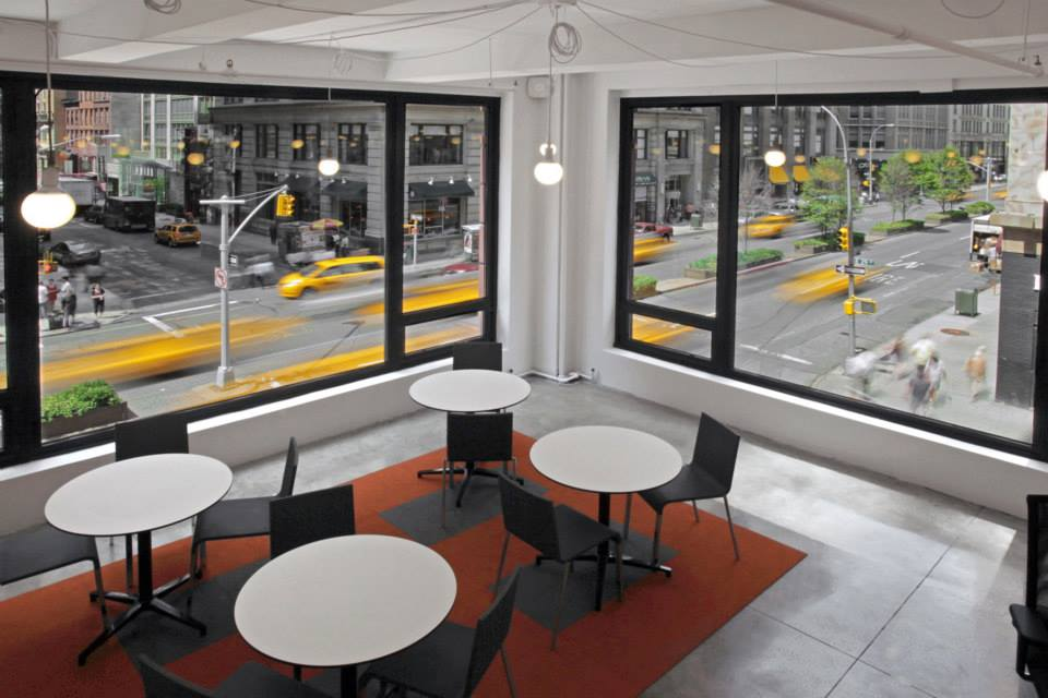 New York Busines Address - Lounge Area