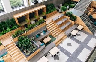 Schaumburg Busines Address - Lounge Area