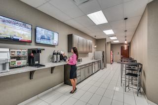 Break Room - Kitchen Area - Fort Worth Virtual Office