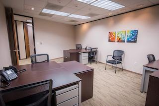 Houston Busines Address - Lounge Area
