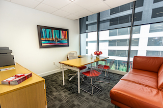 Temporary Miami Office - Meeting Room