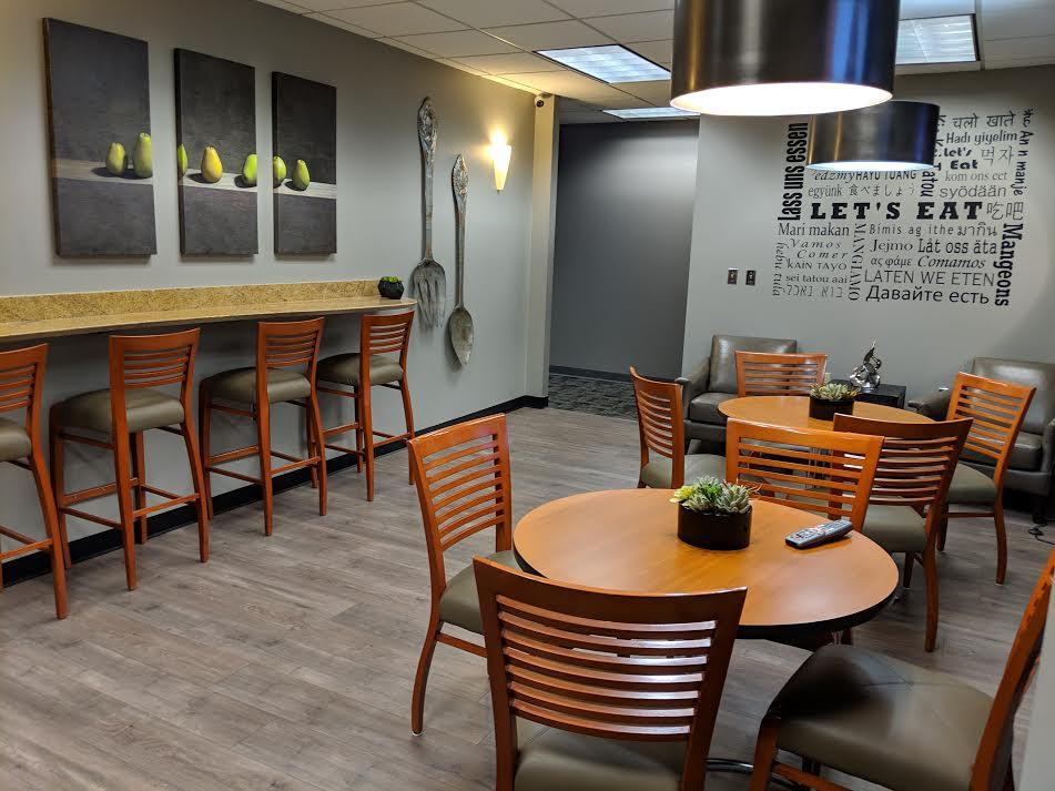 Break Room - Kitchen Area - Duluth Virtual Office