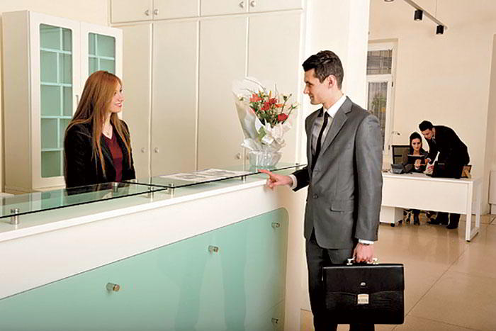 Receptionist and Mail Area - Algiers Virtual Office