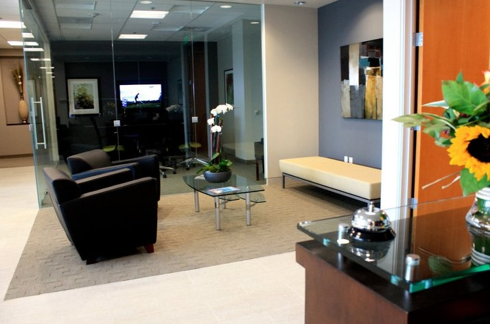 Receptionist and Mail Area - Aliso Viejo Virtual Office
