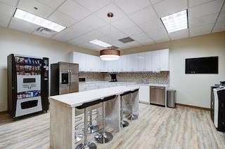 Break Area in Allen Virtual Office Space