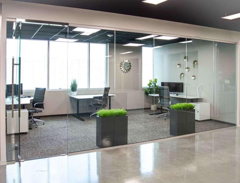 Temporary Allen Office - Meeting Room