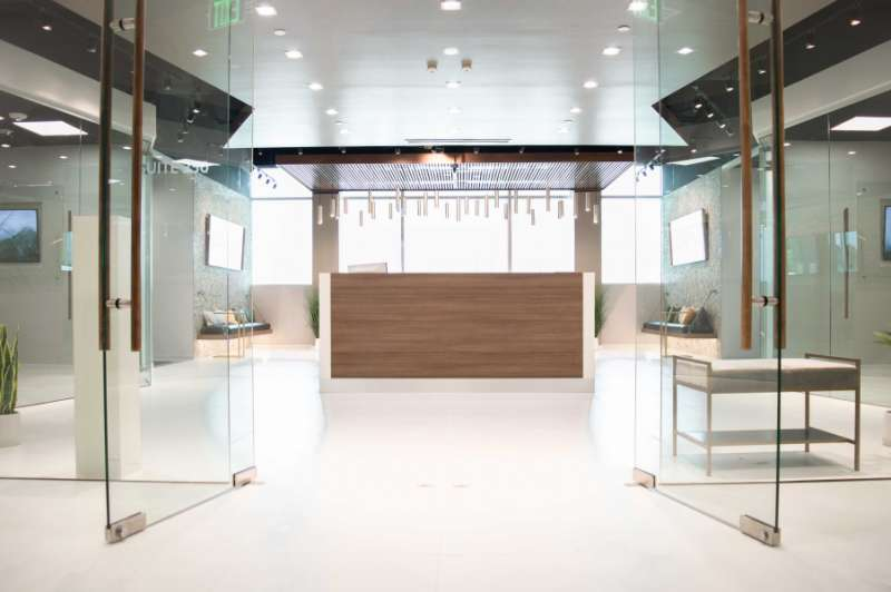 Receptionist Lobby - Virtual Offices in Allen