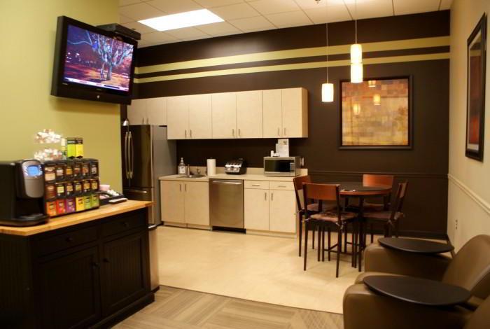 Break Room - Kitchen Area - Alpharetta Virtual Office