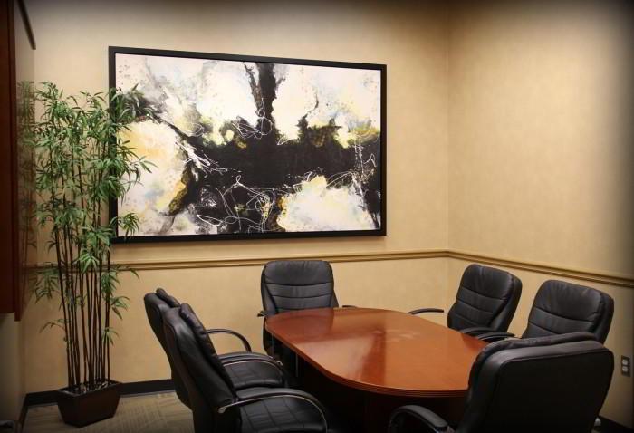 Stylish Alpharetta Meeting Room