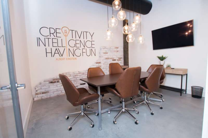 Stylish Alpharetta Meeting Room
