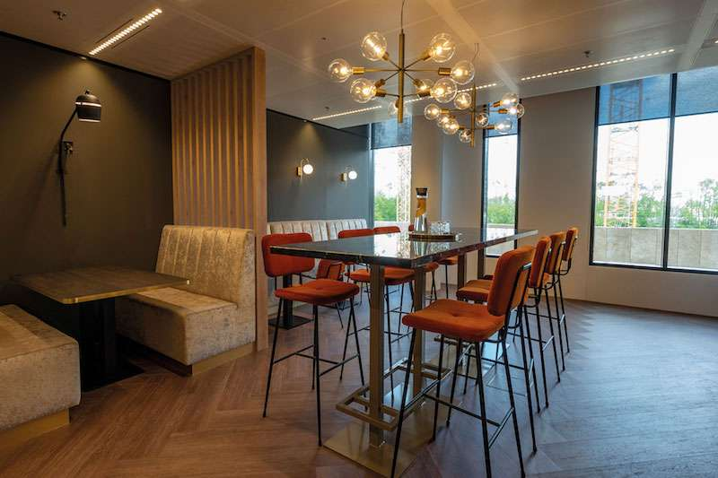 Break Room - Kitchen Area - Amsterdam Virtual Office