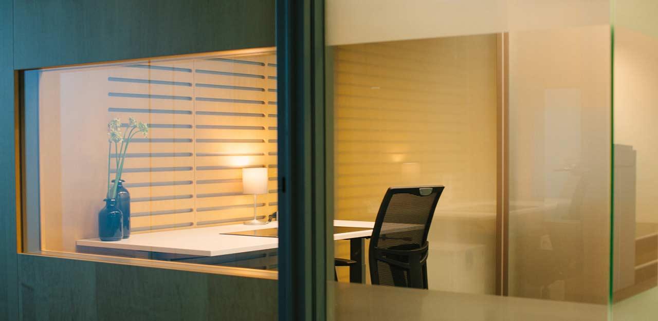 Temporary Amsterdam Office - Meeting Room