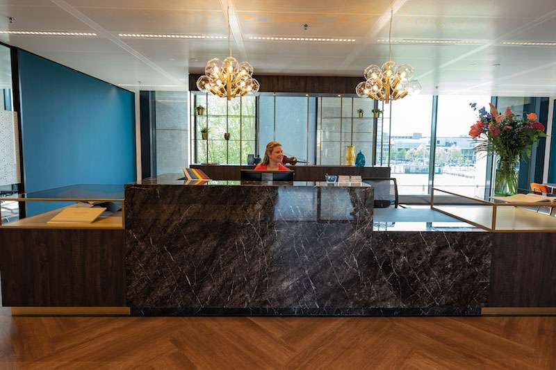 Receptionist and Mail Area - Amsterdam Virtual Office