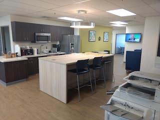 Break Room - Kitchen Area - Ann Arbor Virtual Office