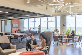 Atlanta Busines Address - Lounge Area