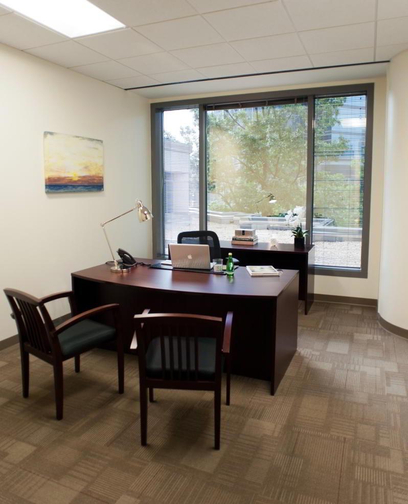 Temporary Atlanta Office - Meeting Room