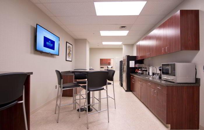 Break Area in Bala Cynwyd Virtual Office