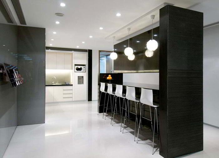Break Room - Kitchen Area - Beijing Virtual Office